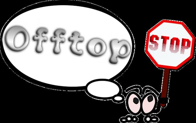 Что значит оффтоп и оффтопик в интернет-сленге?