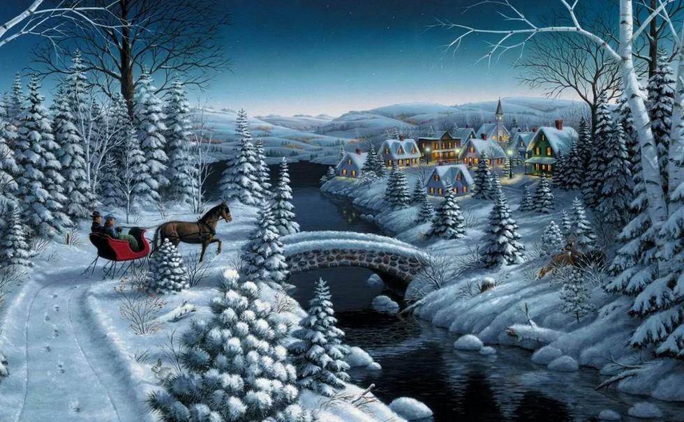 лично меня самые красивые картинки про зиму как так