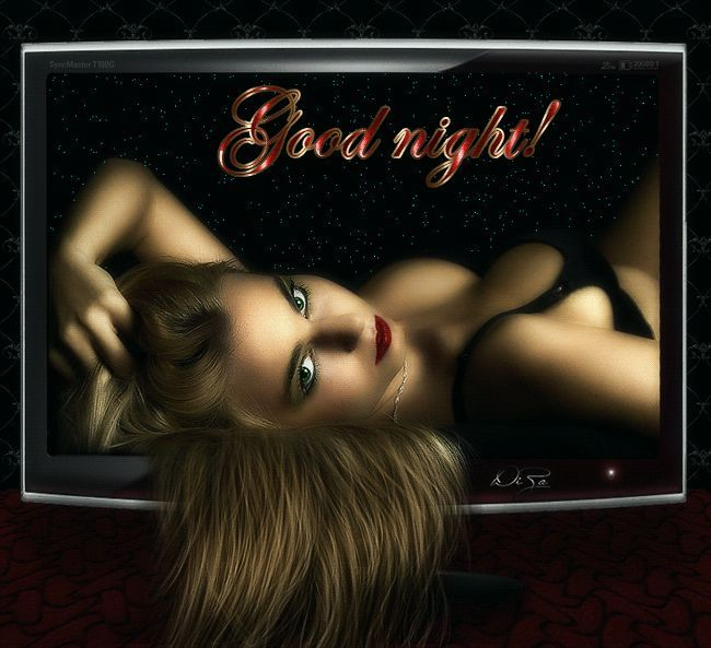 Картинки спокойной ночи мужчине гифки