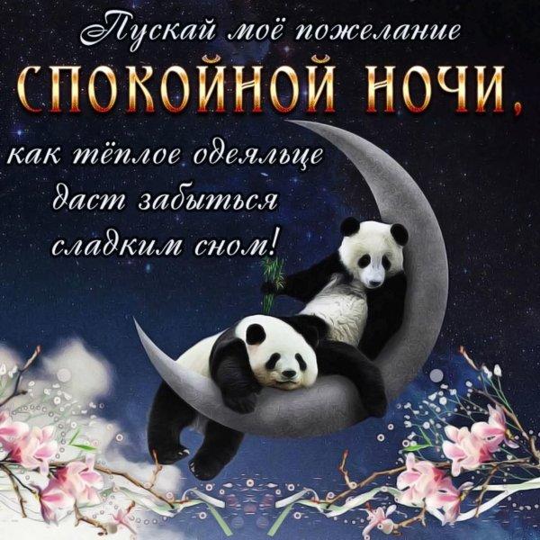 Красивые картинки «Спокойной ночи женщине»