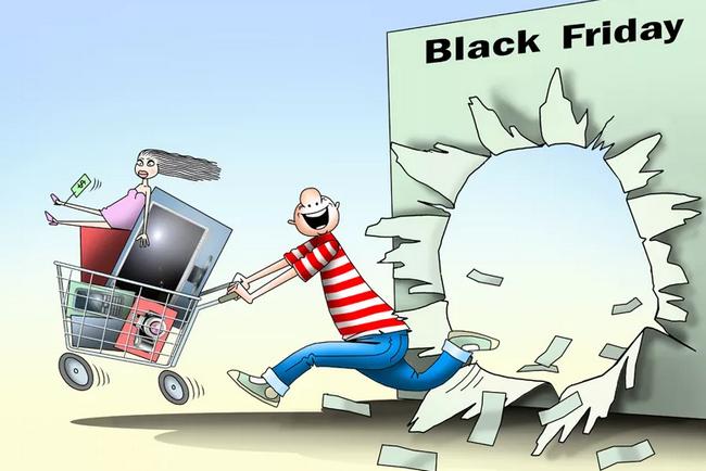 Прикольные картинки «Черная пятница»