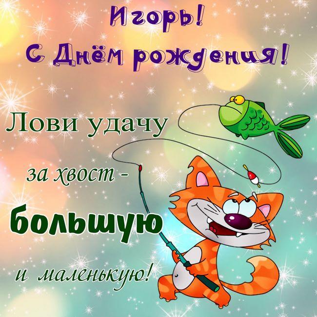 Поздравления с днем рождения игоря в прозе